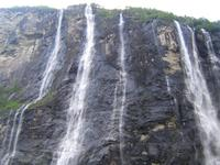 Sieben Schwestern Geiranger Fjord