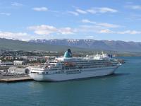 Auslaufen Akureyri