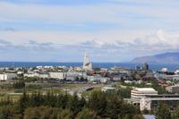 Blick auf Reykjavik