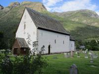 Die Kirche von Kinsarvik