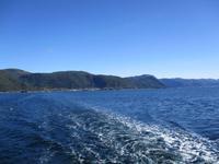 Blick auf Lavik am Sognefjord