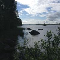 Fotostop an einem See