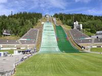 Schanzenanlage in Lillehammer