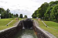 Göta Kanal - Schleuse von Berg - Carl Johann Slussen