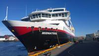 Unser Hurtigrutenschiff