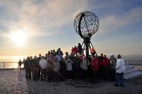 Gruppenfoto - Nordkapp