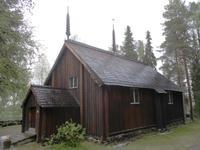 Die alte Kirche von Södankylä