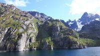 Fahrt mit der Hurtigrute von Stokmarknes nach Svolvaer (MS