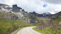 Lofoten-Rundfahrt (Insel Flagstadøy)