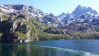 Fahrt mit der Hurtigrute von Stokmarknes nach Svolvear (
