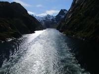 Ausfahrt aus dem Trollfjord
