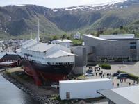 Hurtigrutenmuseum in Storkmarknes
