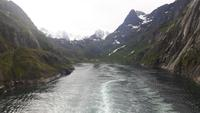 Fahrt mit der Hurtigrute von Stokmarknes nach Svolvær (Trollfjord)