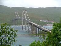 Die Tjellsundbrücke