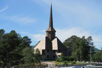 Kirche in Dombas