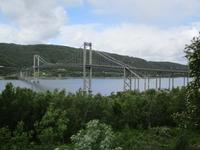 Die Tjeldsundbrücke