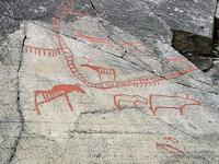 103 Norwegen - Felszeichnungen von Alta