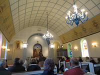 In der Kirche von Flateyrí