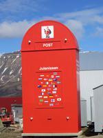 Weihnachtsmann-Post in Longyearbyen
