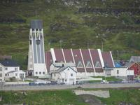 Die evangelisch-lutherische Kirche von Hammerfest