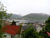 Panoramablick auf Tromsø