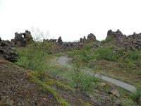 Kreuzfahrt mit AIDAsol Skandinavien – Island, Lava-Labyrinth in Dimmuborgir