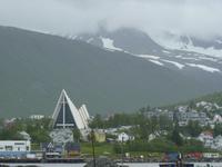 139 Tromsö - Blick auf die Eismeerkathedrale