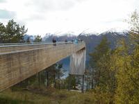 Aurlandsvegen (Snøvegen - Aussichtsspunkt