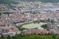 Bergen (Ausblick vom Fløyen)