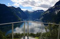 188 Ljoen, Blick in den Geirangerfjord