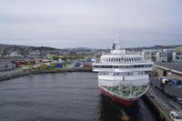 Hurtigruten-Kai in Trondheim