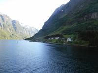 Fahrt auf dem Sognefjord