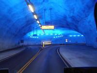 Kreisel im Hardangerbrückentunnel