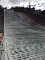 Skisprungschanze Lysgardsbakken in Lillehammer