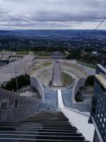 Skisprungschanze Holmenkollen in Oslo