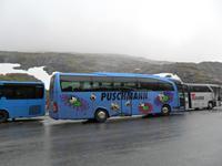 078 Norwegen, Bus auf dem Trollstig