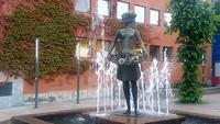 Rosenmädchen in Molde