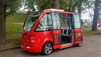 Oslo - selbstfahrender Bus