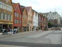Bryggen - Hanseviertel in Bergen