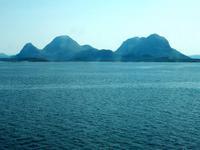 Fahrt mit den Hurtigruten