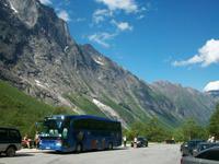 Unser Reisebus an den Trollstigen