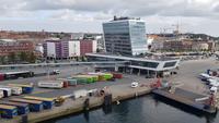 Einfahrt in Kiel