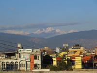 Blick von Patan Richtung Himalaya
