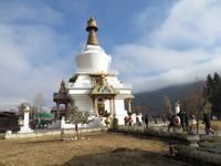 Gedächtnischörte in Thimphu