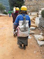Frauen als Arbeitskräfte in Bhutan