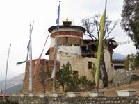 Wehrturm des Paro Dzongs