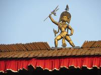 Patan, Blitzableiter am Konigspalast