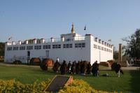 Lumbini - Maya Devi Tempel mit Heiligem Garten