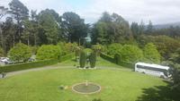 Besuch des Larnarch Castle - Neuseeland