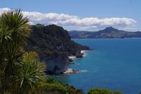Spaziergang zur Cathredral Cove